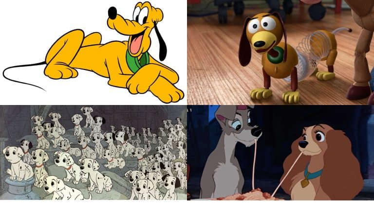 A Disney Dog Collage
