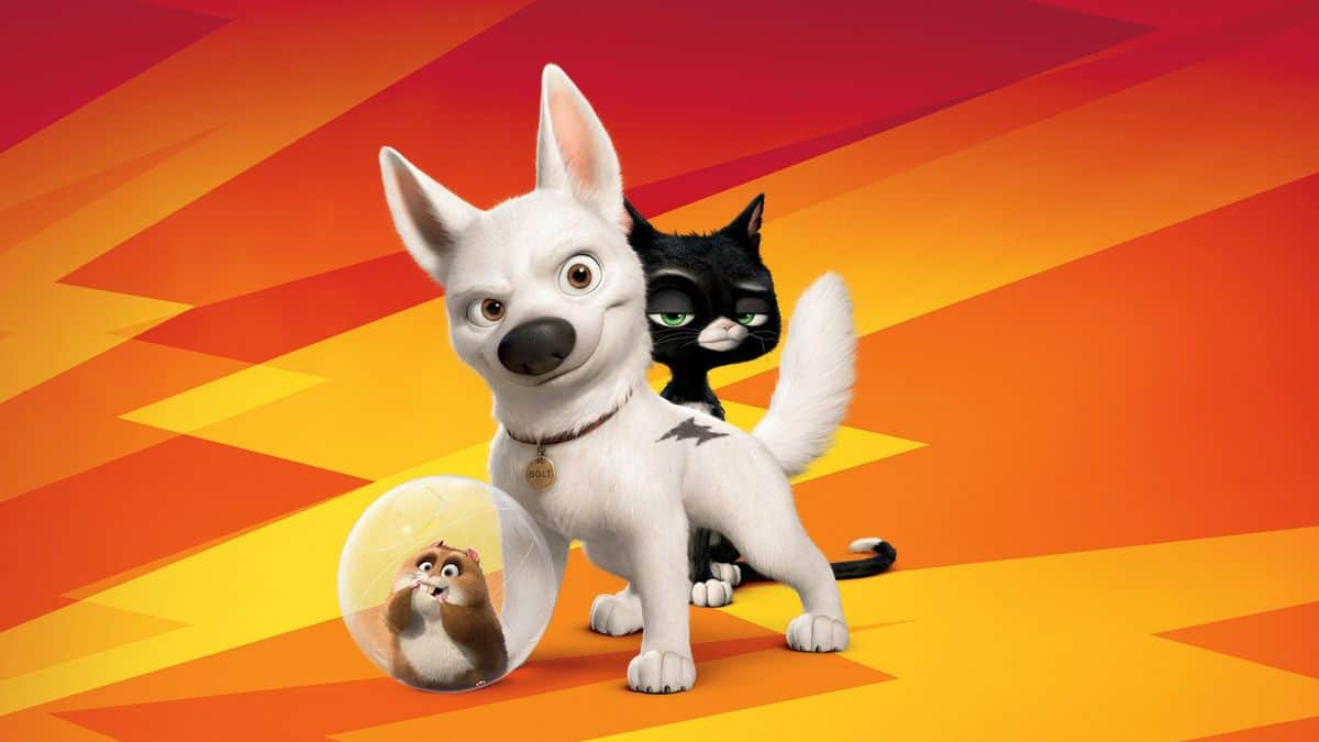 The dog bolt from the movie bolt