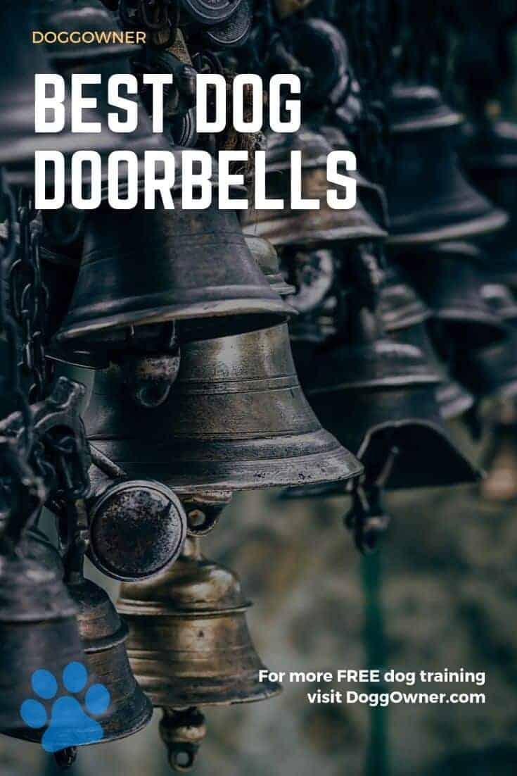 Best dog doorbells Pinterest image