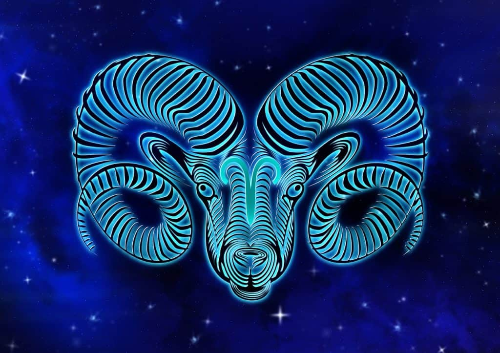 an image of the Aries Zodiac sign