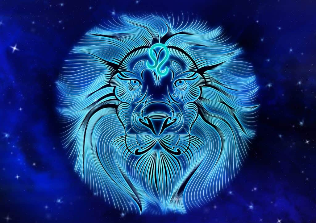 an image of the Leo Zodiac sign