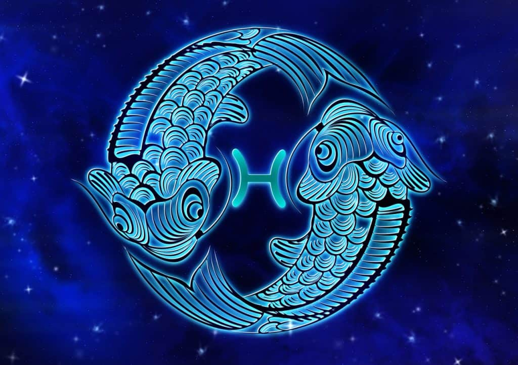an image of the Pisces Zodiac sign