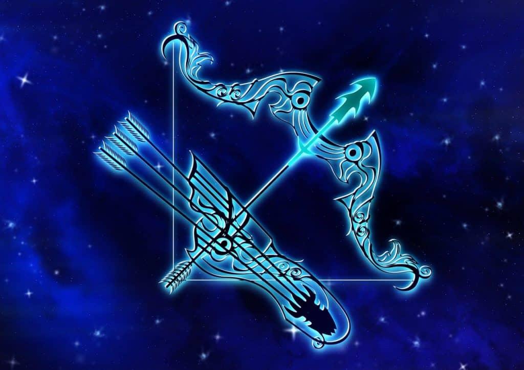 an image of the Sagittarius Zodiac sign