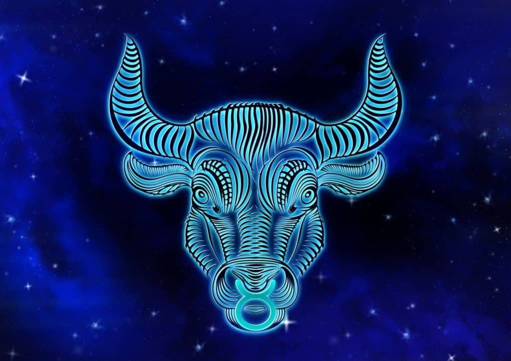 an image of the Taurus Zodiac sign
